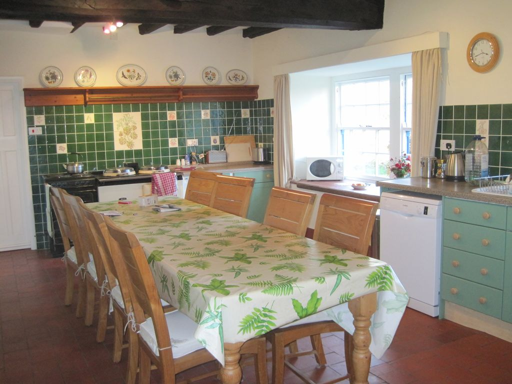 House And Garden Kitchens Historic House With Large Garden In Beautiful Homeaway Criccieth
