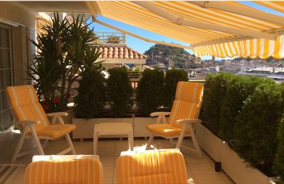 Photo for Apartment overlooking the medieval castle of Tossa de Mar