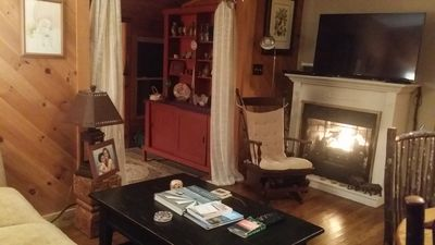Photo for Beech Mountain Retreat in the Woods with hot tub views wildlife wheelchair acce