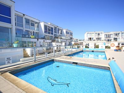 Photo for Seascape Heights is a beautiful newly refurbished poolside 2 bedroom apartment