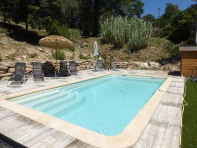Photo for Lou paradaou villa pool and comfort ++