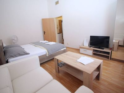 Photo for Comfortable Serviced Apartment in Central Prague for two - Two Bedroom Apartment, Sleeps 2