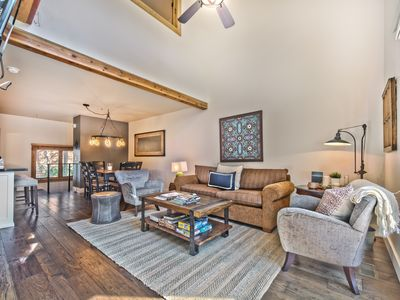 Photo for Walk to Ski. Deer Valley. Mountain Contemporary Furnishings. Private Hot tub.