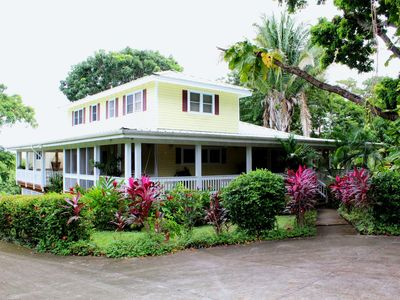 Photo for Tranquil Plantation Style With Private Gardens, Pool, In Gated Eco Dive Resort