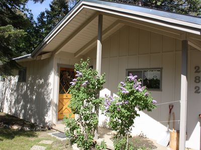 Photo for Secluded, cozy cabin  in the heart of Camp Nelson with WIFI