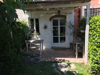 Photo for La Casina di Verciano surrounded by greenery just a few steps from the center of Lucca