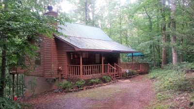 Drive right up to this cabin paradise and park right outside your door!