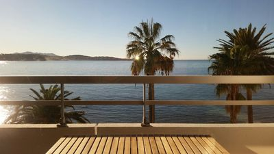 Photo for 2 Room Apartment 47 m² Air-conditioned + Terrace. Panoramic Mer.