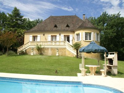 Photo for Beautiful Villa with Tennis Court in Dordogne, France