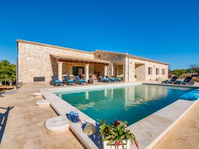 Photo for NEW ☼ Beautiful newly built house with pool and great views