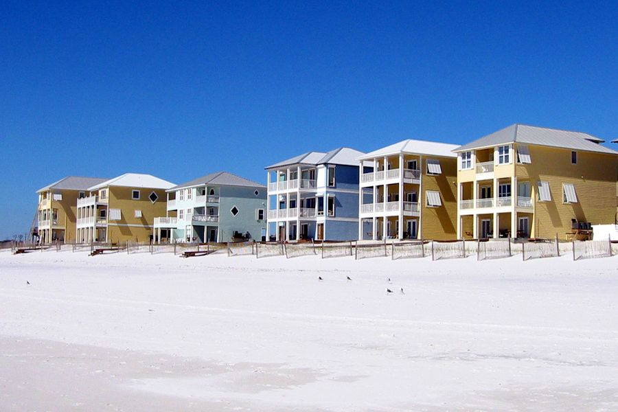 Lund: 8 BR / 7 BA house in Orange Beach, Sleeps 20