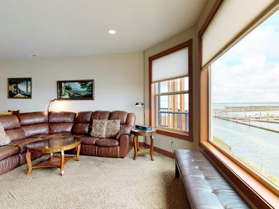 Photo for Spacious and well furnished home with marina views! Free WiFi!