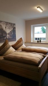 Photo for Modern beautiful apartment with garden on the North Sea