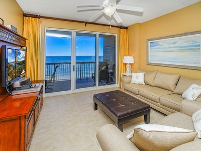 Photo for STUNNING VIEWS FROM THE BALCONY!! OPEN 9/28-10/5!