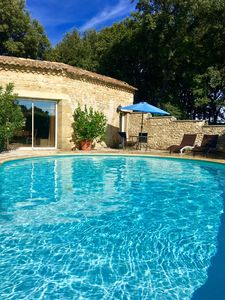 Photo for PRETTY COTTAGE WITH POOL AIR CONDITIONED PROVENCE COTE D'Uzes