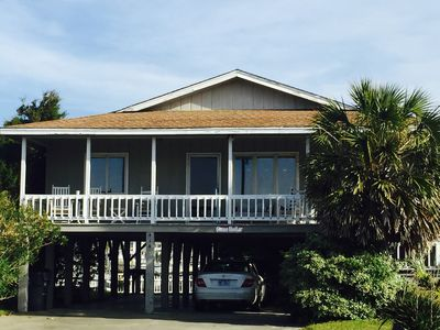 Photo for Charming Beach House with beautiful Front and Back Porch views