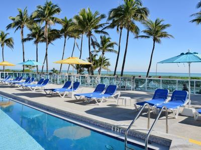 Photo for RIGHT ON THE BEACH! HUGE CORNER BAYFRONT 2BR/2BA APARTMENT, POOL, TENNIS, GYM!