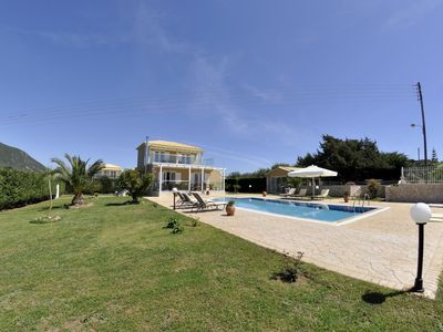 Photo for Large holiday house with garden and pool, wifi | Halikounas, Corfu