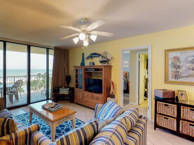 Photo for Waterfront condo w/ shared pool & sauna, amazing ocean views, & private balcony