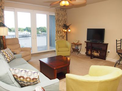 Photo for Laketown Wharf 2/2 Condo with Bunks, Lake View, Beach Access, Book Now!