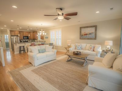 Photo for BEST DEAL IN KURE BEACH!!! FULLY RENOVATED LUXURY HOME STEPS TO THE OCEAN & PIER