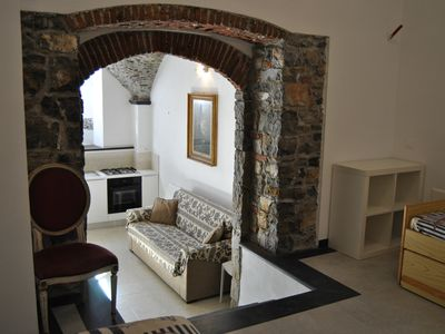 Photo for 1BR Apartment Vacation Rental in Cervo (IM), Liguria