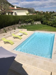 Photo for Villa large garden private pool quiet comfort near downtown Vence
