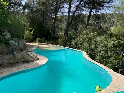 Photo for Villa bottom 8persons with swimming pool