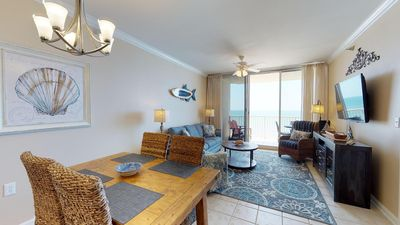 Photo for Gulf View UPDATED Condo - Living & Master Bedroom Balconies Doral 805