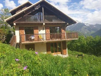 Photo for Charming chalet with view