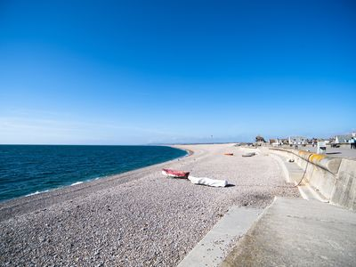 Photo for Mariners Cottage, a beach house 10 yards from Chesil Beach