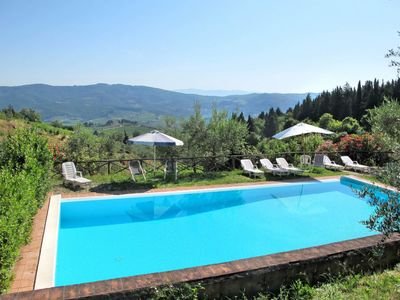 Photo for Vacation home Agriturismo San Rocco (GRE172) in Greve in Chianti - 10 persons, 3 bedrooms