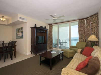 Photo for 1011 - 2B/2 Bath with Bunks.  Master Bedroom & Living Room Face the Gulf!