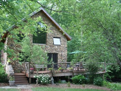 Photo for Stone Cottage Creekside With Jacuzzi - Newly Available