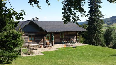 Photo for Top location Willingen with sauna directly at ski slope / forest edge.