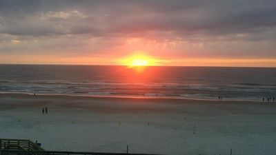 Photo for Beautiful Ocean Front Condo with Balcony.  Come Watch the Waves Roll In