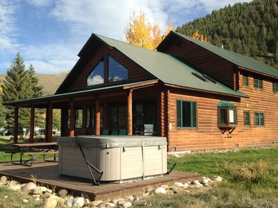 Photo for Taylor Canyon Home with Mountain Views and Private Fishing
