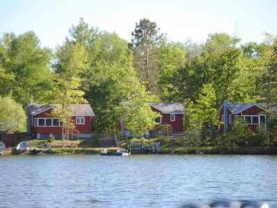 Photo for Scenic and Relaxing 2Br Cabin right by the water and fun family activities!