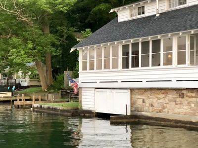 Photo for Timeless 4 Bedroom Lakefront House with Gorgeous Views