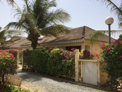 Photo for Saly, Residence Town center, Villa 3 bedrooms 100 m from the sea Large swimming pool
