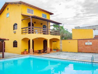 Photo for LARGE HOUSE WITH BEAUTIFUL SWIMMING POOL AND 07 ROOMS NEAR THE ROAD.