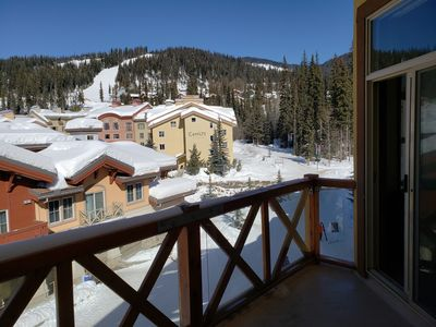 Photo for Cozy, ski-in/out, condo in the heart of Sun Peaks