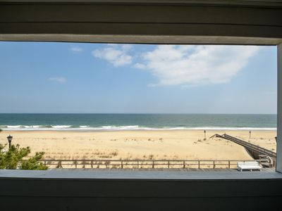 Photo for OCEANFRONT- VIEWS, COMFORT, QUALITY! WIRELESS, EASY ACCESS TO BEACH!