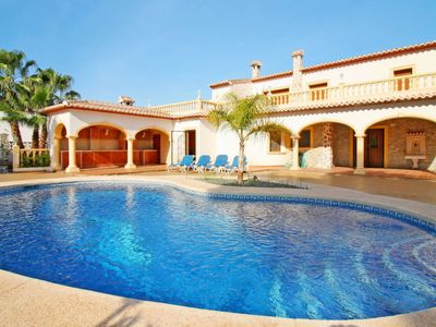 Photo for 4 bedroom Villa, sleeps 9 in Fanadix with Pool, Air Con and WiFi