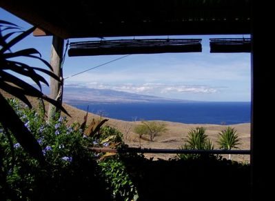 Looking out from your lanai