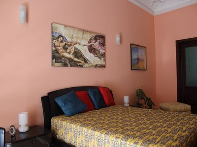 Photo for Basile apartment 700 meters from the cathedral of Palermo and 200 mt from Via Maqueda