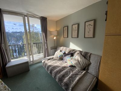 Photo for Ski Apartment With Spectacular Mountain View (Flaine)