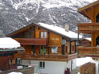 Photo for 3 bedroom Apartment, sleeps 5 in Grächen with WiFi
