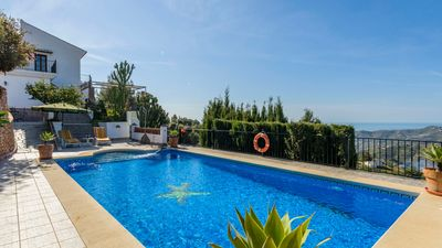 Photo for Villa with terrace in Frigiliana, ideal for groups