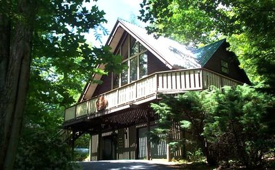 Photo for Cozy But Spacious Chalet at Mt. Mitchell Golf Course